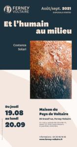 Exposition Costanza Solari Et l'humain au milieu