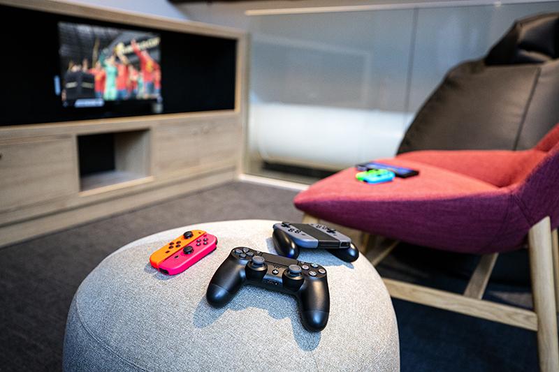 médiathèque espace jeux vidéo