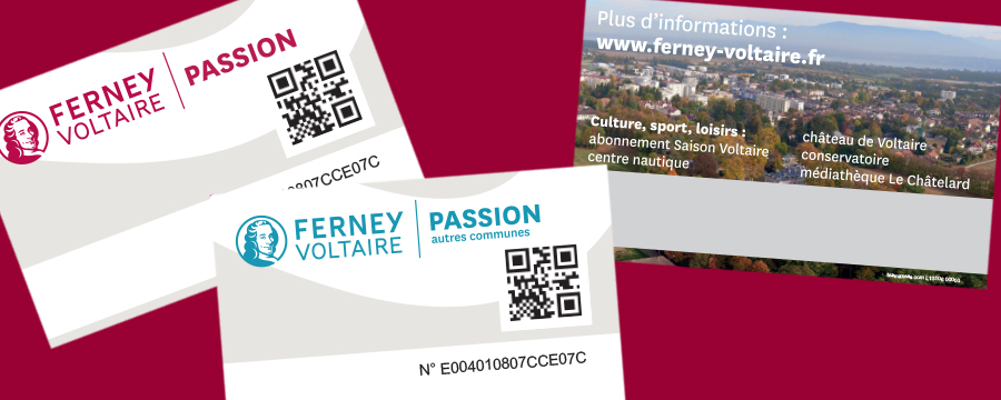 Carte Ferney Passion