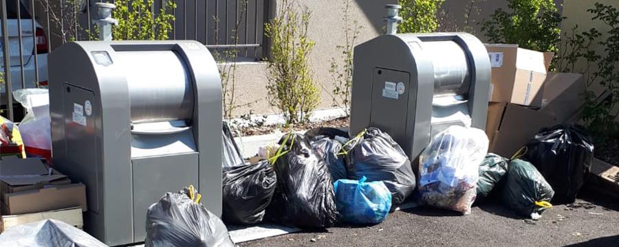 dépôts sauvages déchets