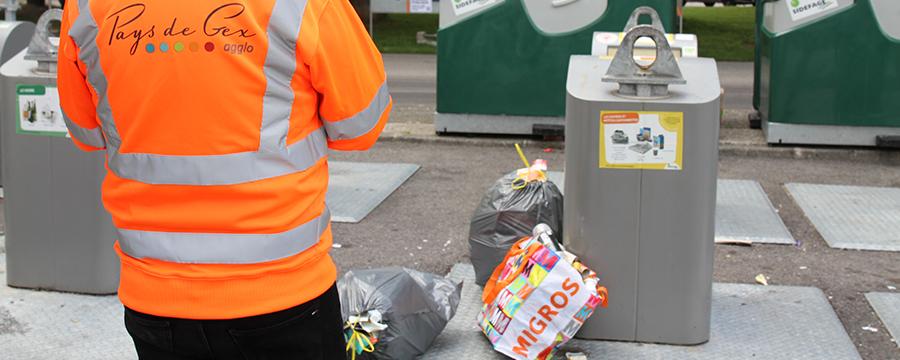 la Ville s'engage contre les dépôts irréguliers d'ordures ménagères
