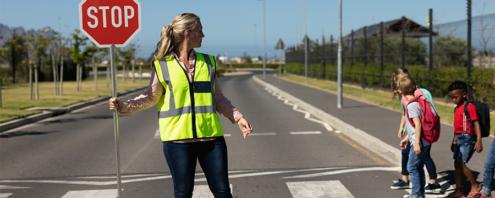 Recrutement : sécuriser les traversées piétonnes aux abords des écoles