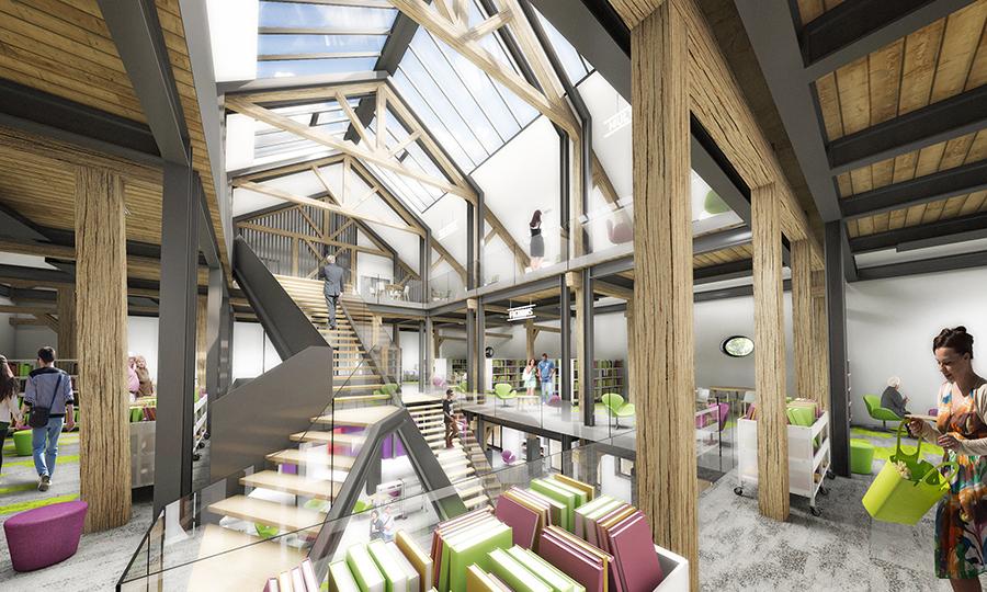 Médiathèque © BasaltArchitecture architectes